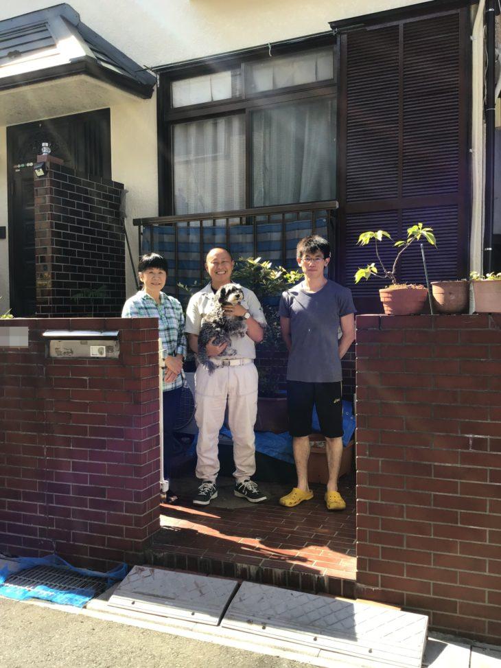 埼玉県川口市で屋根金属瓦葺替・外壁塗装をされたI様の声