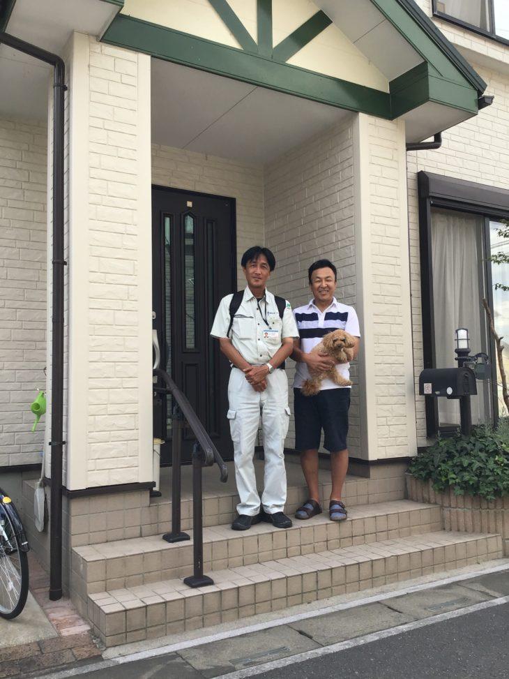 埼玉県三郷市でベランダ防水をされたS様の声