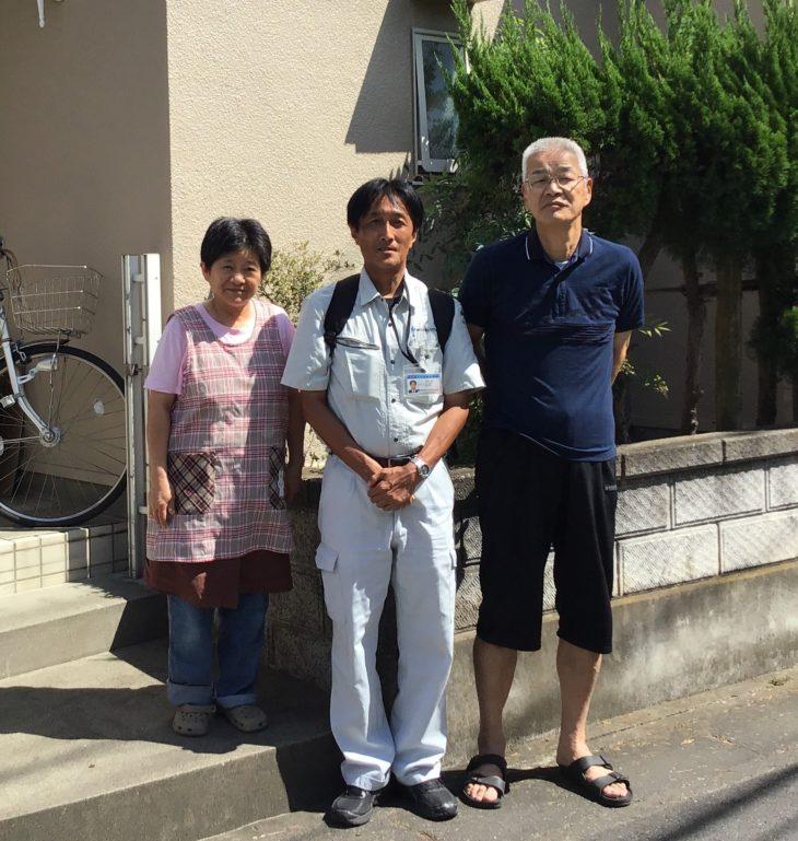 埼玉県三郷市で外壁塗装をされたS様の声